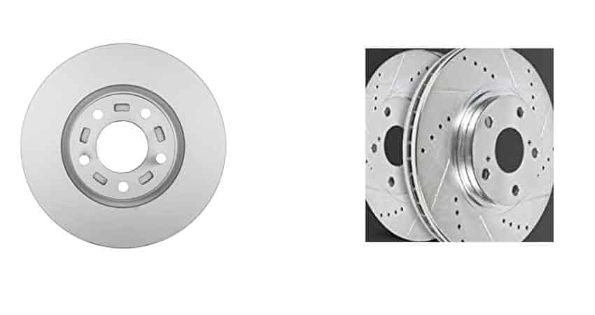 Vented vs. Solid rotors
