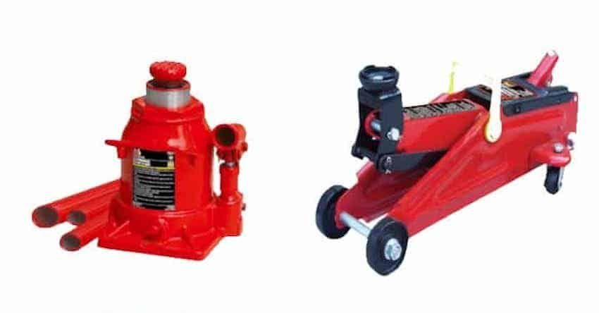 Bottle Jack vs Floor Jack