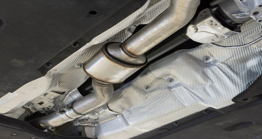 How long can you drive with a bad catalytic converter