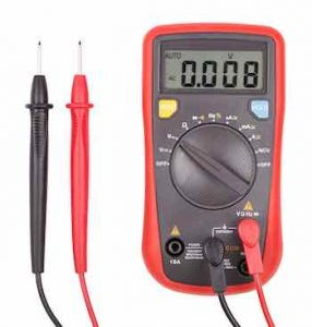 multimeter is functioning