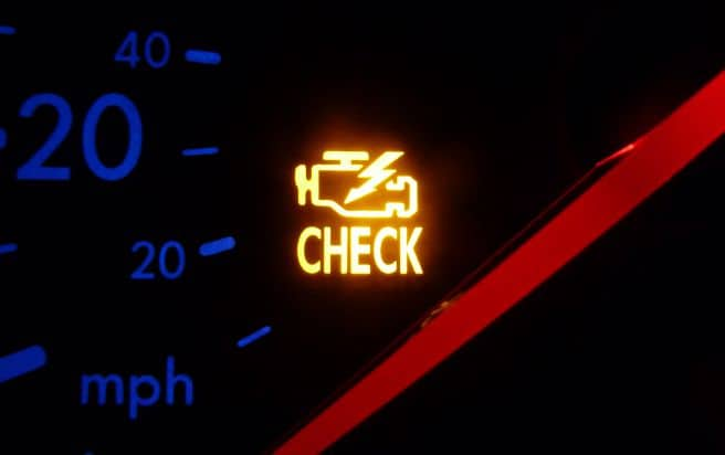 Check Engine Light Off But Code Still There